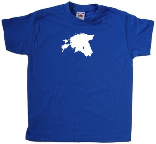 Estonia Outline KIDS T-SHIRT