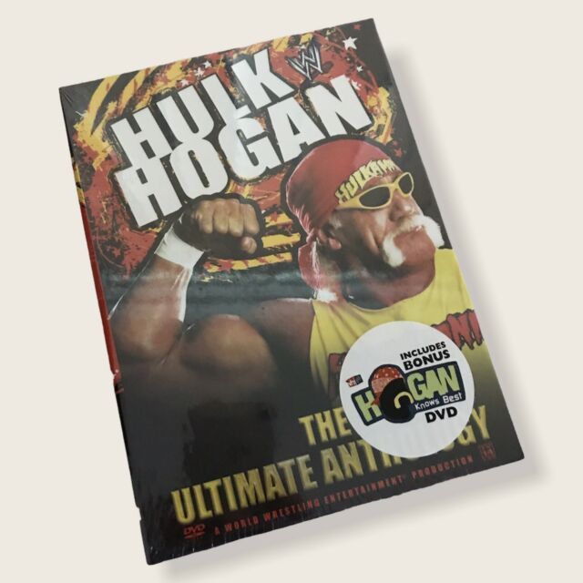 WWE Hulk Hogan The Ultimate Anthology 4 DVD Set *bonus DVDs ...