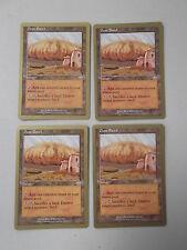 Magic MTG Cards 4x Dust Bowl x4 World Championship Gold Border