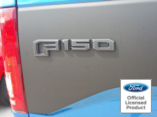 2015 2016 2017 NEW FORD F-150 EMBLEM OVERLAY VINYL DECALS SIDE AND TAILGATE F150