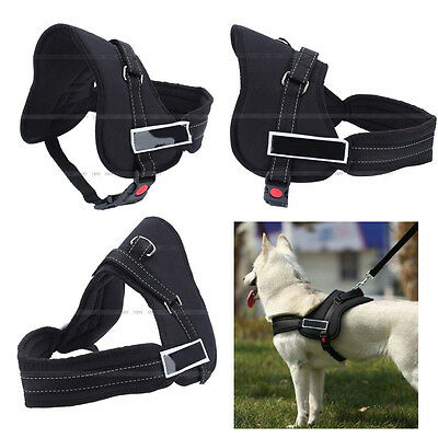 Big Dog Soft Adjustable Harness Pet Large Dog Walk Out Harness Vest Collar