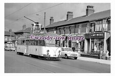 gw0492 - Blackpool Tram no 293 on Dickson Road in 1963 - photograph