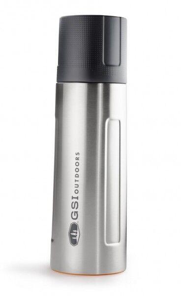 GSI Outdoors Vakuum-Isolierflasche, 1 L, silber (  1Stk)  | Ausgezeichnetes Preis