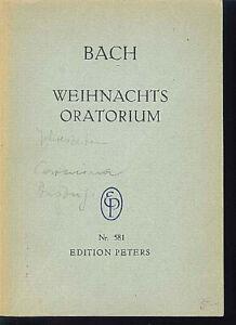 Bach-Weihnachts-Oratorium-Studienpartitur