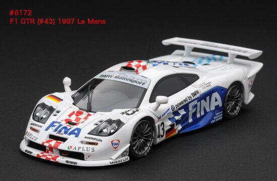 McLaren F1 GTR   43 Kox-Ravaglia-Hélary  Le Mans  1997 (HPI 1 43   8172)  qualité pas cher et top
