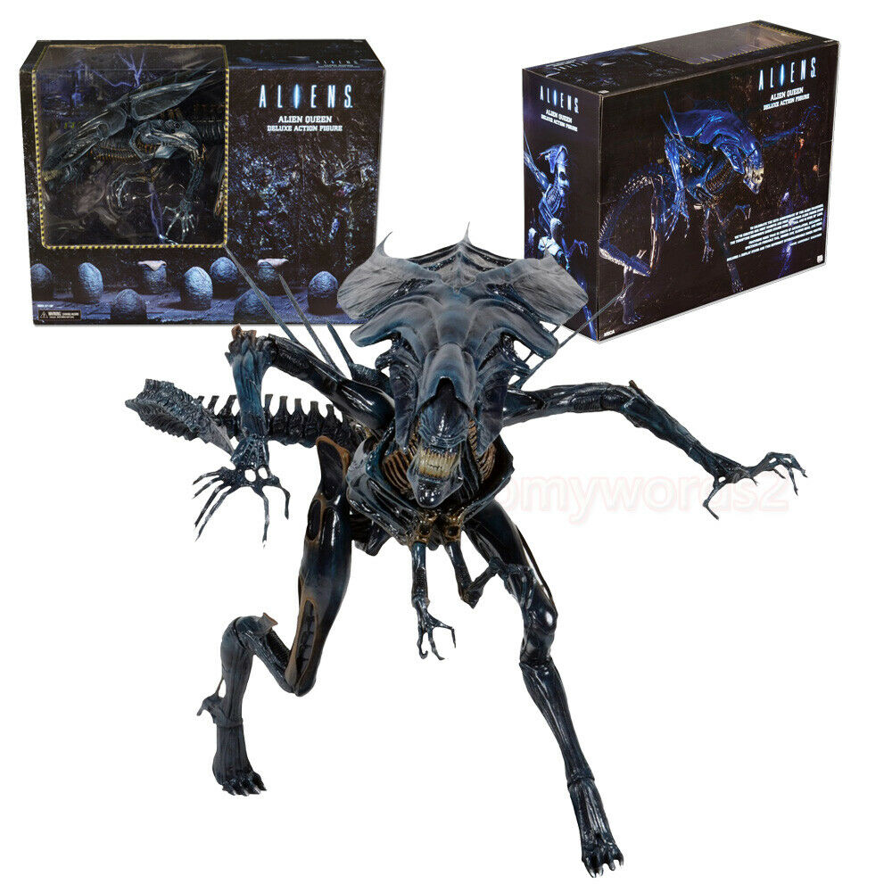 NECA Alien  Deluxe 15  Xenomorph Queen Limited Vision Action Figure Statue Model  distribution globale