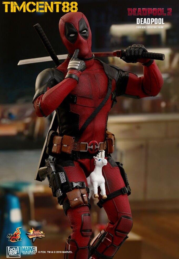 Hot Toys MMS490 Deadpool Deadpool Deadpool 2 New 1 6 Figure 2.0 Wade Wilson Opened New ffbb6c