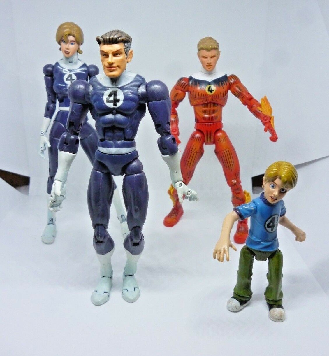 Fantastic 4 Figures TBWW Marvel 2004  Toy Biz Action Figures Toys Play Time  livraison gratuite