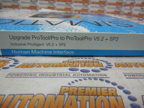 6AV6582-2BX05-2BX4 PROTOOL//PRO SOFTWARE UPGRADE TO VER V5.2+SP2 W//PROAGENT V5.2