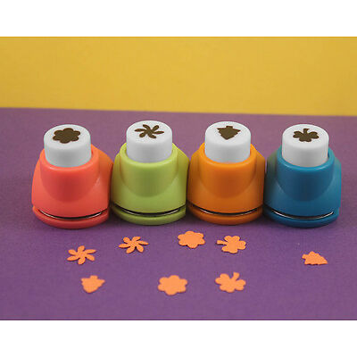 Fancy Paper Cutting Shaper Craft Punch Art For Decorative Pattern Designing(4pc)