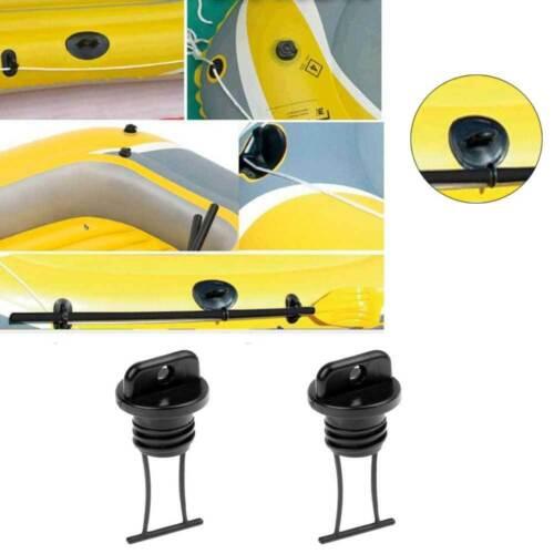 4x Marine Kayak Drain Plug Dinghy Plugs Yacht Replacement Hull Holes Bung Blocks