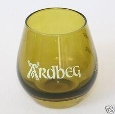 6 x ARDBEG Shortie  Mini Glass , Tumbler mit 2-4cl Eichstrich für Whisky