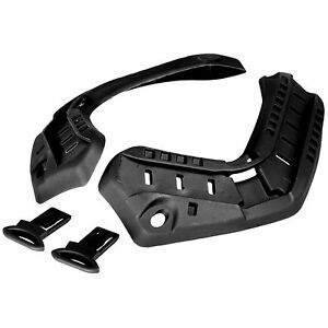 Lancer Tactical ARC BLK Helmet Accessory Rail Insert Set for Fast Helmet CA-719B