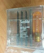 Xcelite metric hex drivers & ball point driver   614-902