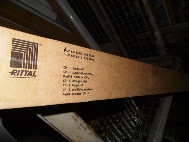 Rittal Tragprofil CP 6513.000 RAL 7030 Länge 370mm  Neu
