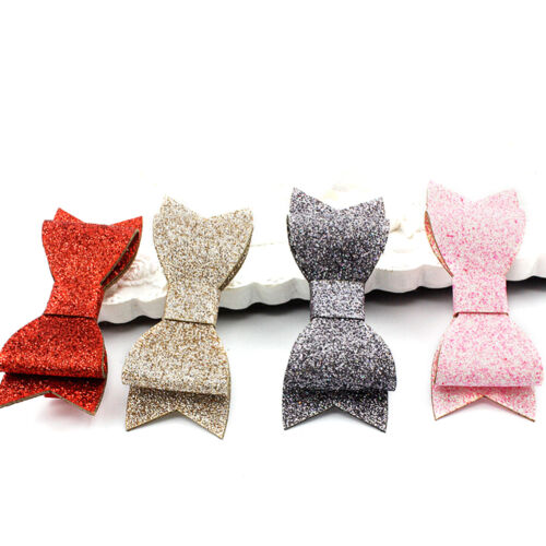 Cute Shiny Baby Girls Hair Clips Hairpins Sequins Toddlers Hair Bows Accessorcb