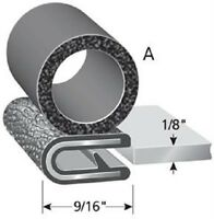 "Trim LoK Lock Seal 1/8"" x 5/8"" bulb A Side Door Rubber"