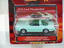 AMERICAN GRAFFITI 1978 FORD THUNDERBIRD 1:64 MotorMax VHTF Green _73600_MOMC NEW