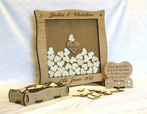 Wedding-Anniversary-Guest-Book-Personalised-Alternative-Drop-Box-Hearts-Oak-13x4