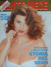 * GENTE MESE N°1 di GEN.1988 * Dall'antichità a Serena Grandi - STORIA DEL SENO