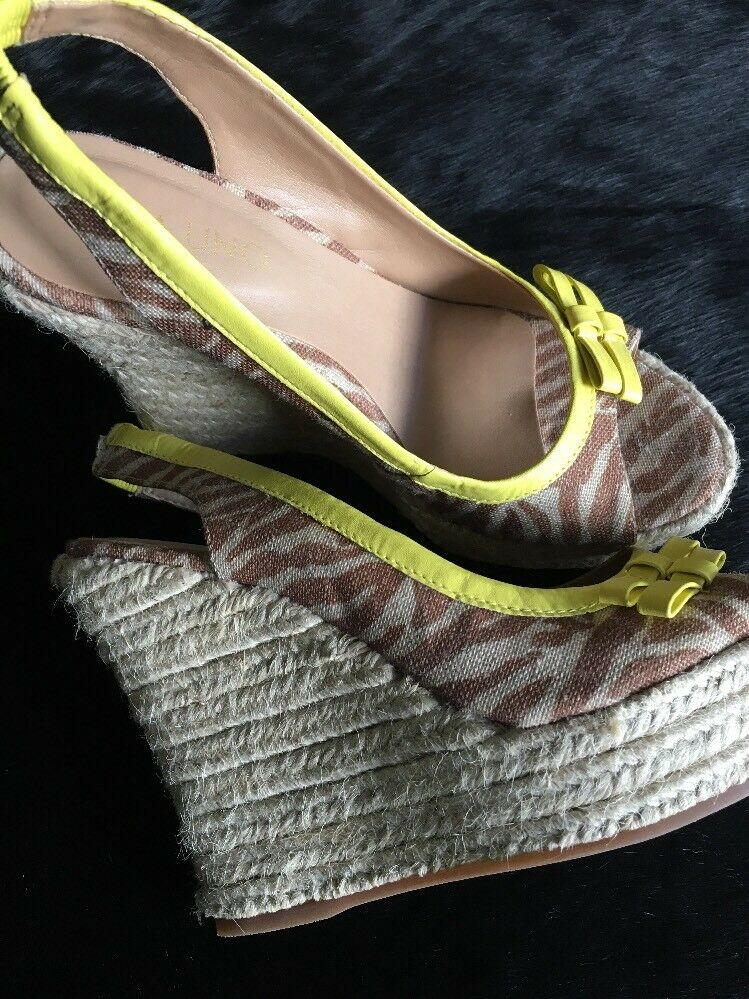 Tolle Luxus Via Uno 37 Wedges Sandaletten High Heels 37 Uno NEU    NP cdf758
