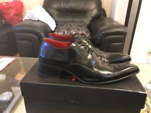 5 Jeffery Uk Chaussures taille 100cuir d'origine noir West 7 VMpSUzGq