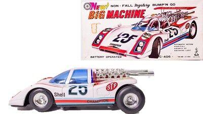 Ovp SorgfäLtige Berechnung Und Strikte Budgetierung Vintage Champion #25 Air Racer Japanisch Bump'n Go Mystery Rennfahren Mit Blechspielzeug