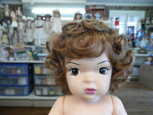 wig for PATTI PATTY PLAYPAL  LIGHT STRAWBERRY BLONDE NEW COLOR !Cathie Lee