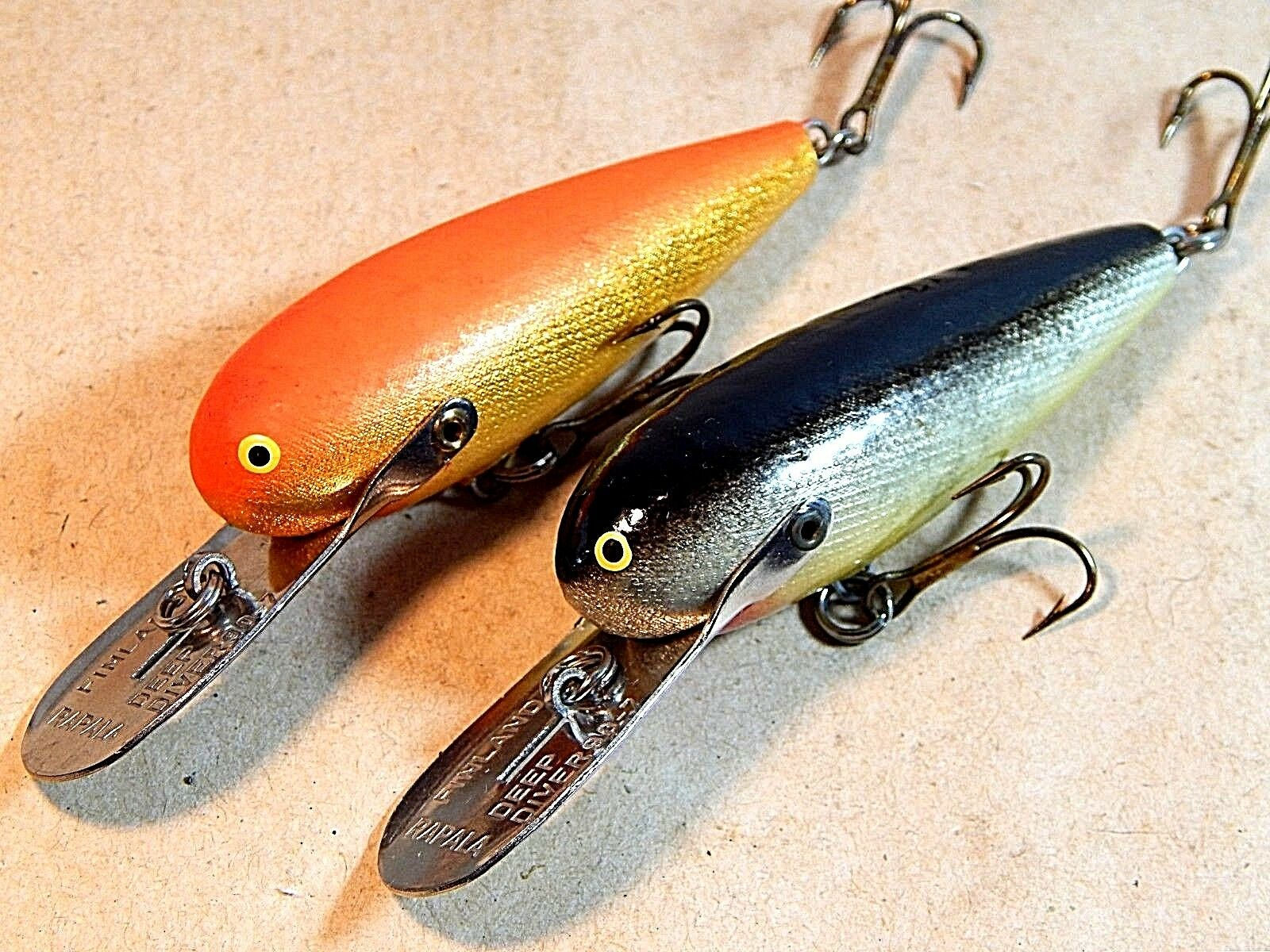 Early Vintage Original Rapala  Wobbler Floating Deep Diver DD-70 S & GFR-nos nm  sale