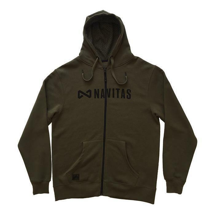 Navitas Core ZIP Hoody Green - All Sizes Available