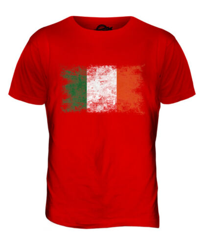 IRELAND DISTRESSED FLAG MENS T-SHIRT TOP ?IRE FOOTBALL IRISH GIFT SHIRT