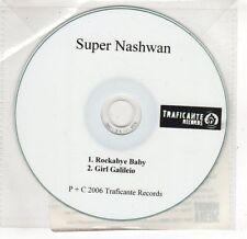 (GV7) Super Nashwan, Rockabye Baby - 2006 DJ CD