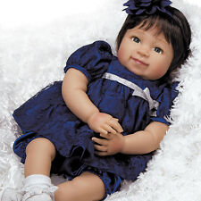Realistic Handmade Baby Doll Girl Toddler Lifelike Vinyl Weighted Alive Reborn