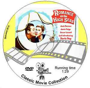 Romance-On-the-High-Seas-1948-Doris-Day-Jack-Carson-Janis-Paige-Comedy-DVD