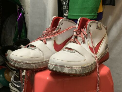 Nike Lebron 4 Buckeyes PE Size 12 Rare