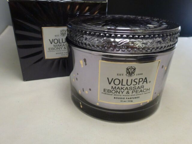 voluspa makassar ebony and peach