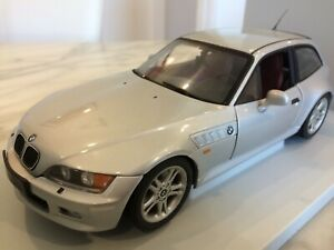 Bmw Z3 Coupe 2 8 1 18 Silver Ut Models 20421 Very Rare Ebay