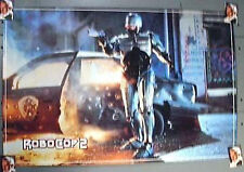 """Vintage 1990 ROBOCOP 2 Movie Poster SHOOTING  23""""x34""""- Rolled"""