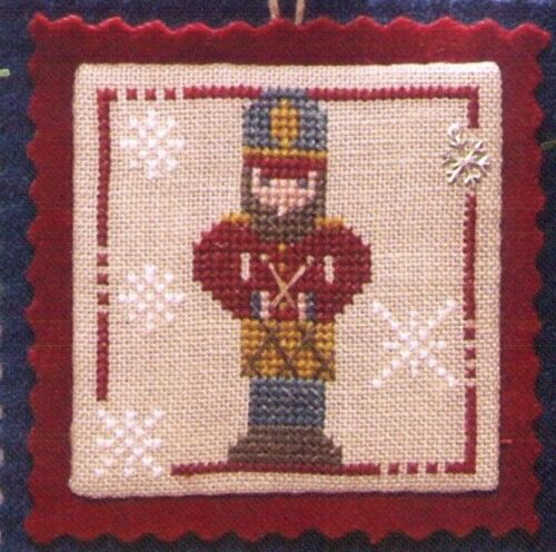 Buddy the Drummer Boy Christmas Cross Stitch Chart by the Trilogy PRICE REDUCED