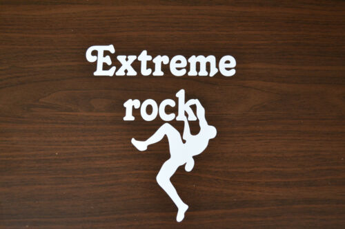 SANCTUARIES EDGE 15cm EXTREME ROCK CLIMBING STICKER DECAL CLIMB MOUNTAINEERING