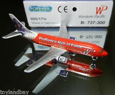 Schabak 1:600 Scale 925-171r Western Pacific Airlines Pro Rodeo Boeing 737-300