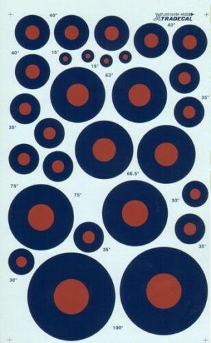 Xtradecal 1//48 Raf National Insignien//Rondelle Typ B Doppel Blatt #48028