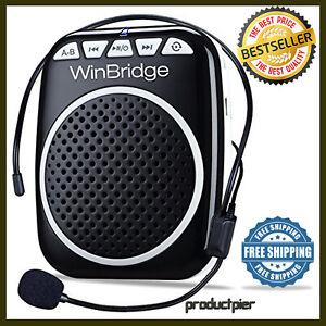 WinBridge WB001 Rechargeable Ultralight Portable Voice Amplifier Waist Support