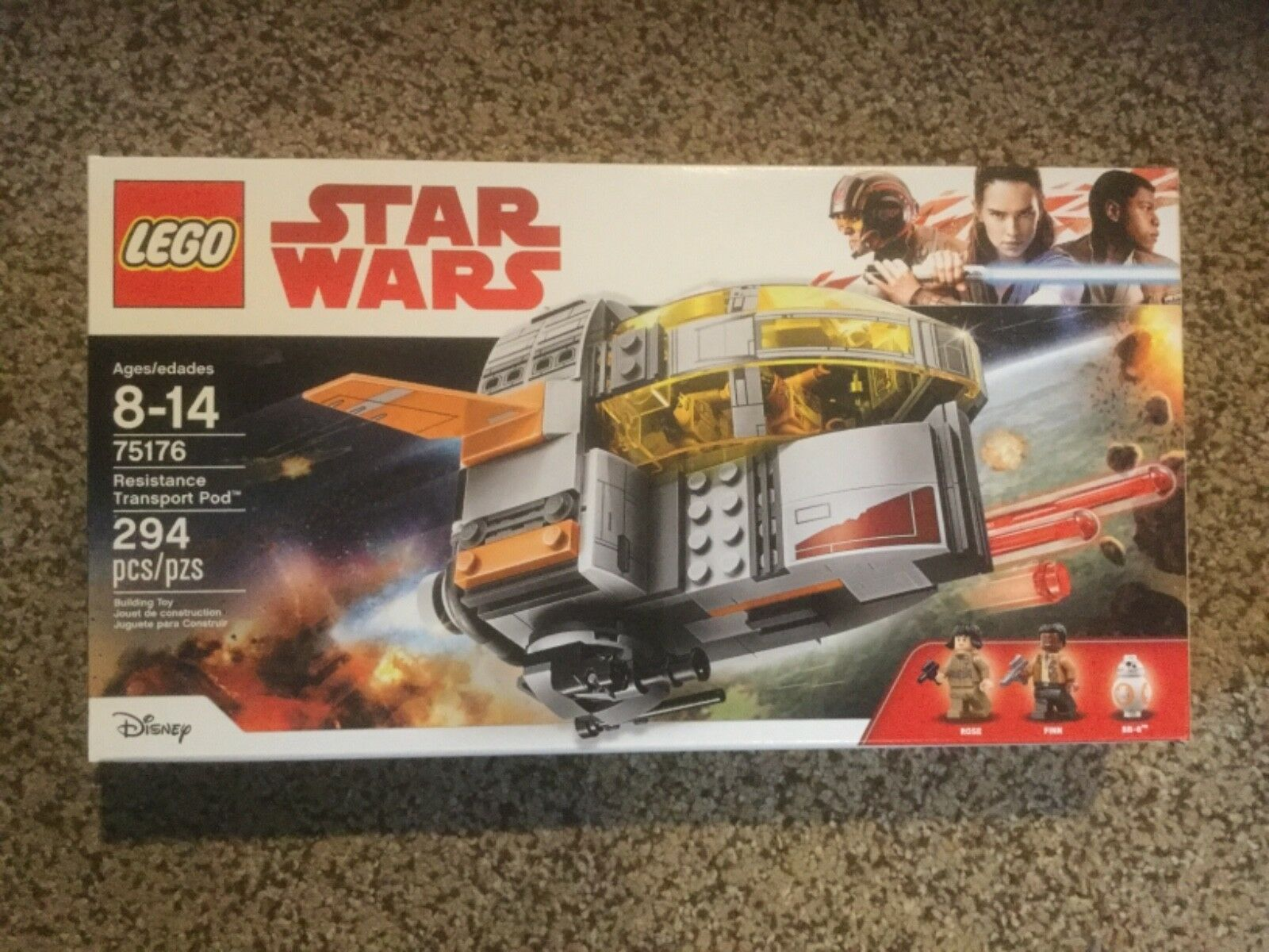 New LEGO Star Wars Resistance Transport Pid.  75176