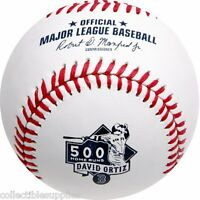 David Ortiz 500 Home Runs Commemorative Boston Red Sox Mlb Baseball In Box