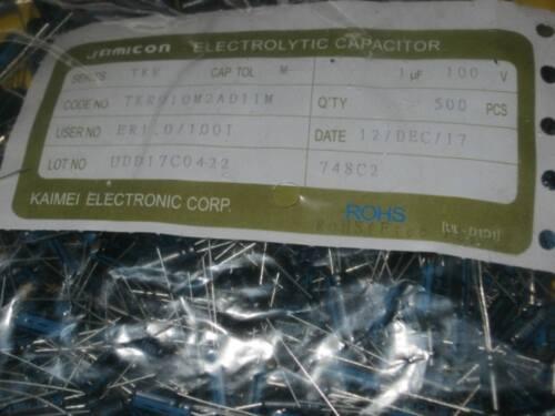 Ø5 x 11mm RM2 -40°C bis 105°C 25x Elkos 1uF 100V