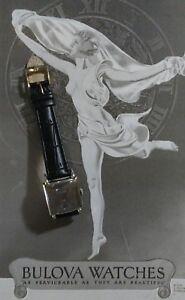 Rare 1940s Bulova Usa 10 Ak Mens Watch 21 Jewel 10 K Rgf Wrist Watch by Bulova