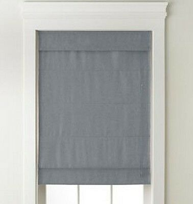 NEW with DefectsTextured Blackout Roman Shade/Blind Fabric Window Treatment
