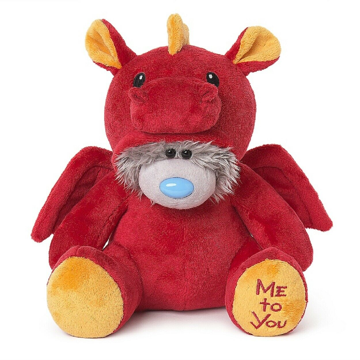 Me To You 24  Collectors Bear Dressed as rot Dragon