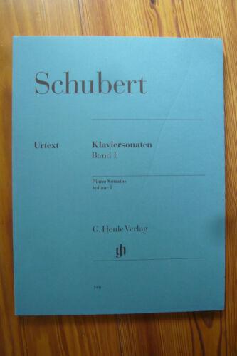 Franz Schubert B-Ware Klaviersonaten Band 1 Henle 146